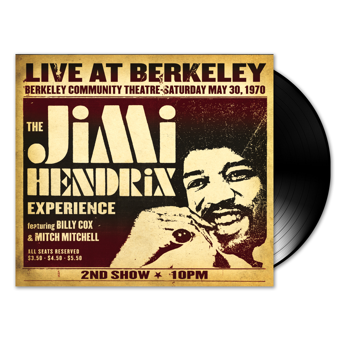 Jimi Hendrix Experience: Live At Berkeley 2-LP