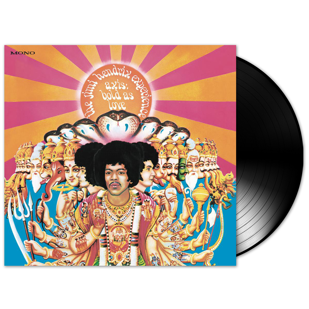 Jimi Hendrix Axis: Bold As Love LP