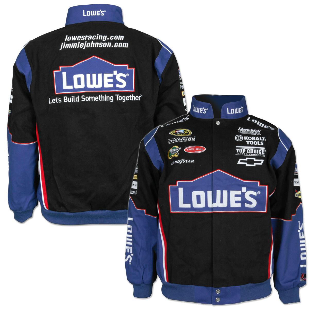 Jimmie johnson leather jacket