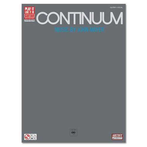 John Mayer Continuum Play It Like It Is - Guitar Softcover - TAB