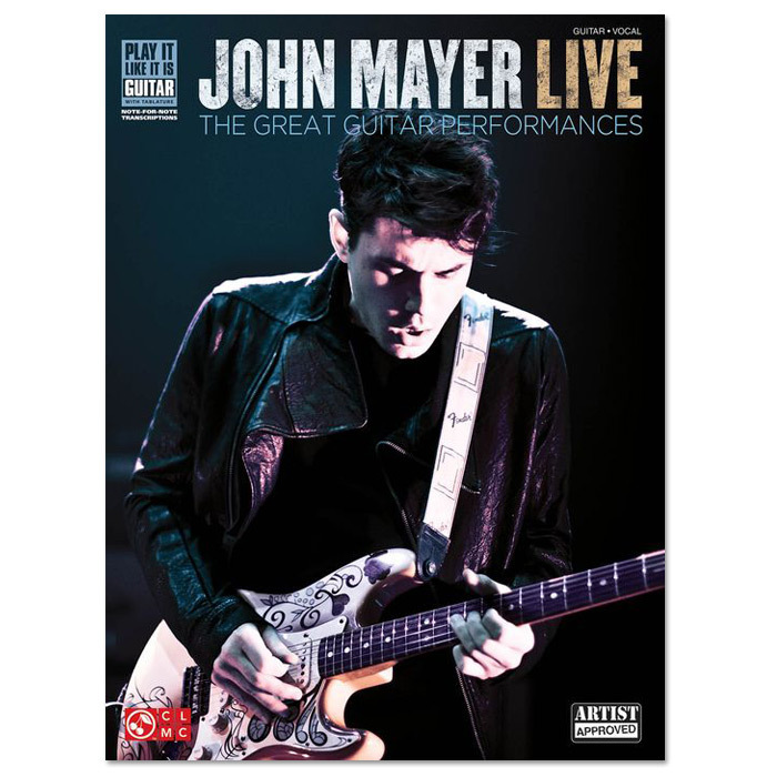 John Mayer Play It Like It Is Live Softcover - TAB