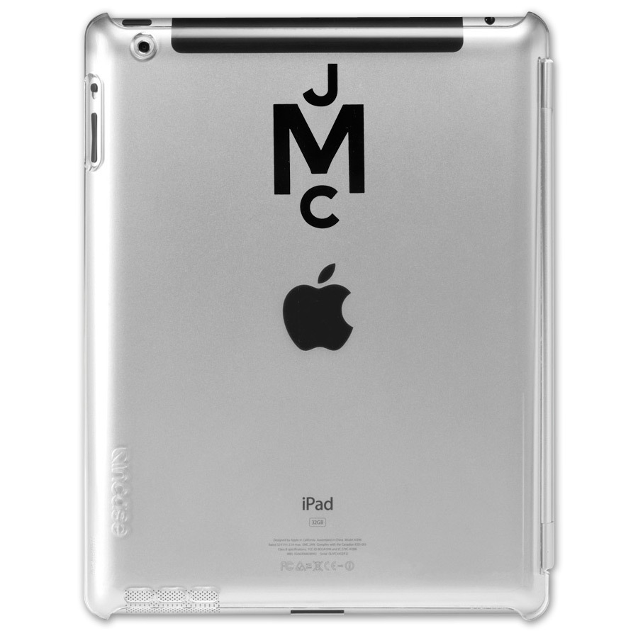 "John Mayer ""JCM"" Logo Snap Case for iPad 2"