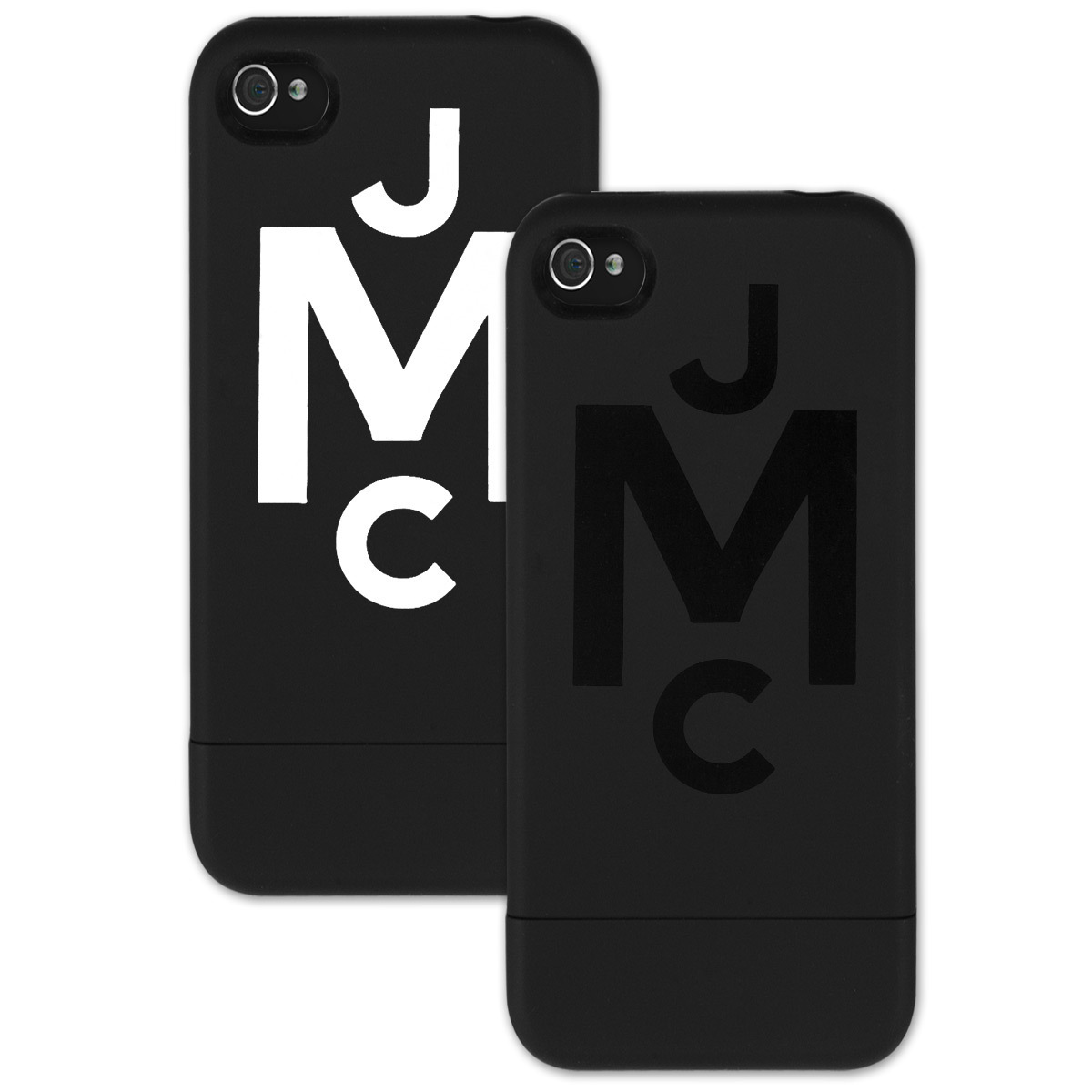 JMC Monogram Logo Black Slider iPhone 5 Case