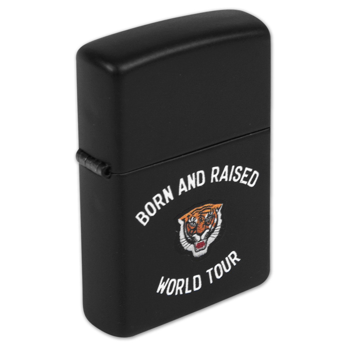 Born and Raised World Tour Zippo