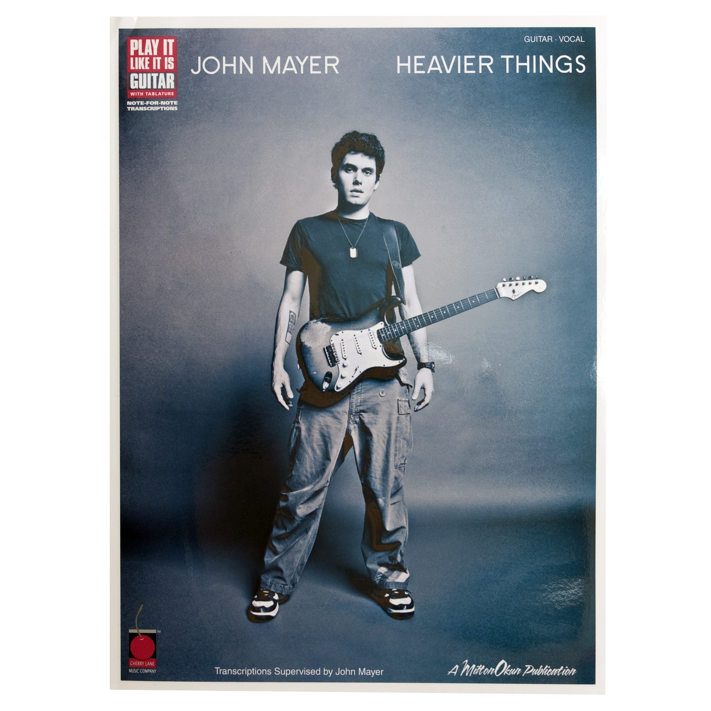 John Mayer - Heavier Things Play-It-Like-It-Is Guitar Tab