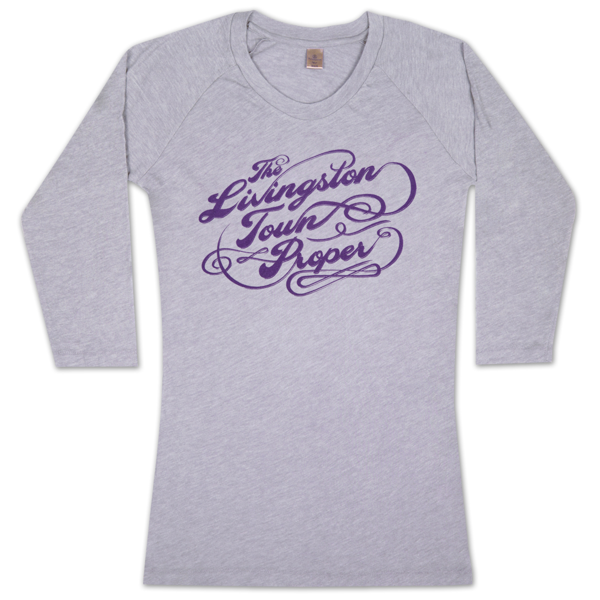 "John Mayer ""Livingston Town Proper"" Women's 3/4 Henley"
