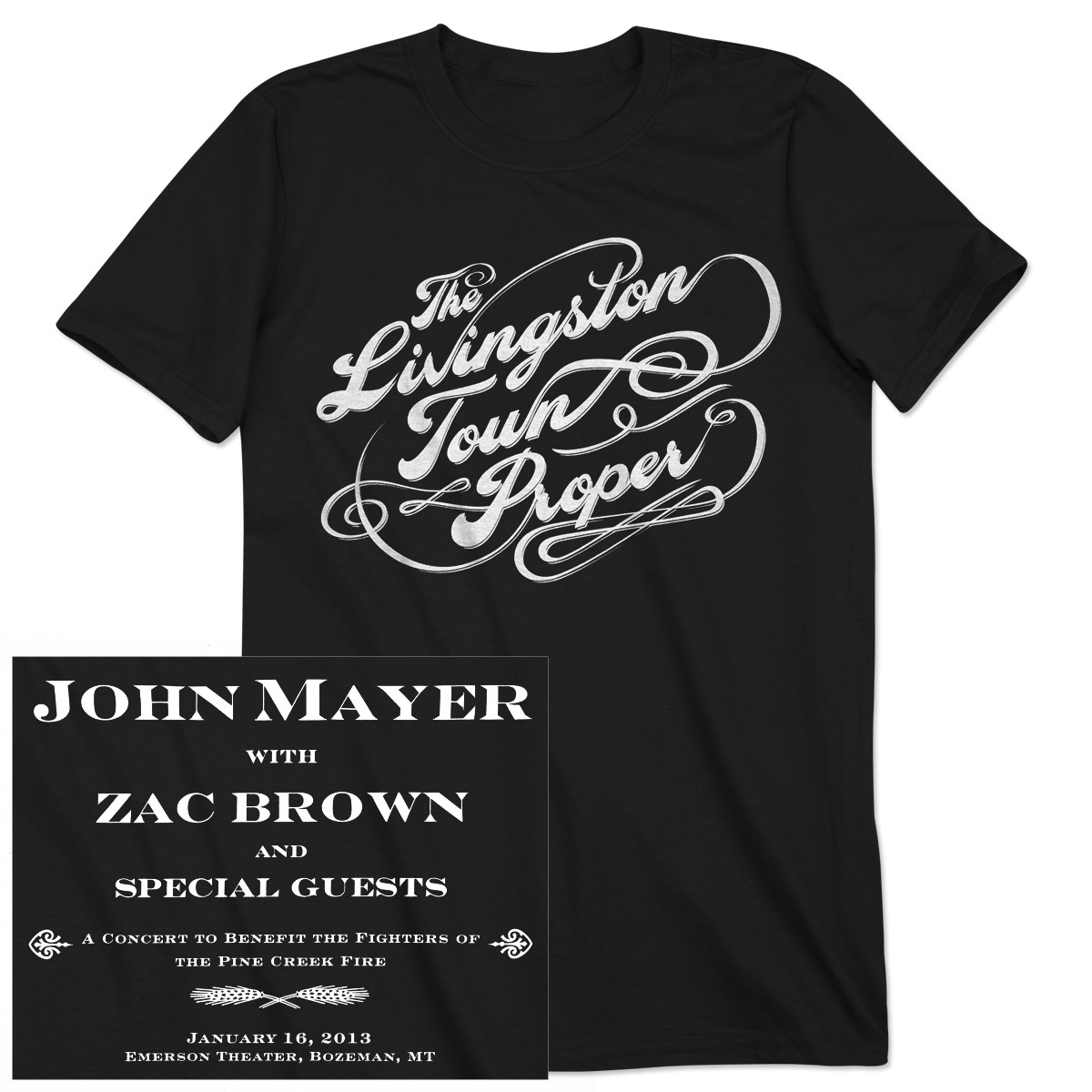 "JM ""Livingston Town Proper"" Unisex Event T-shirt"
