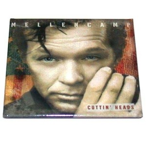 John Mellencamp Cuttin Heads Album Cover Magnet