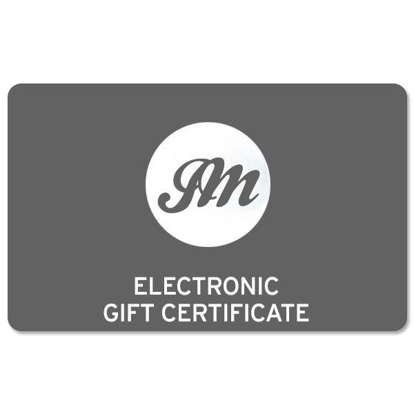 John Mayer Electronic Gift Certificate
