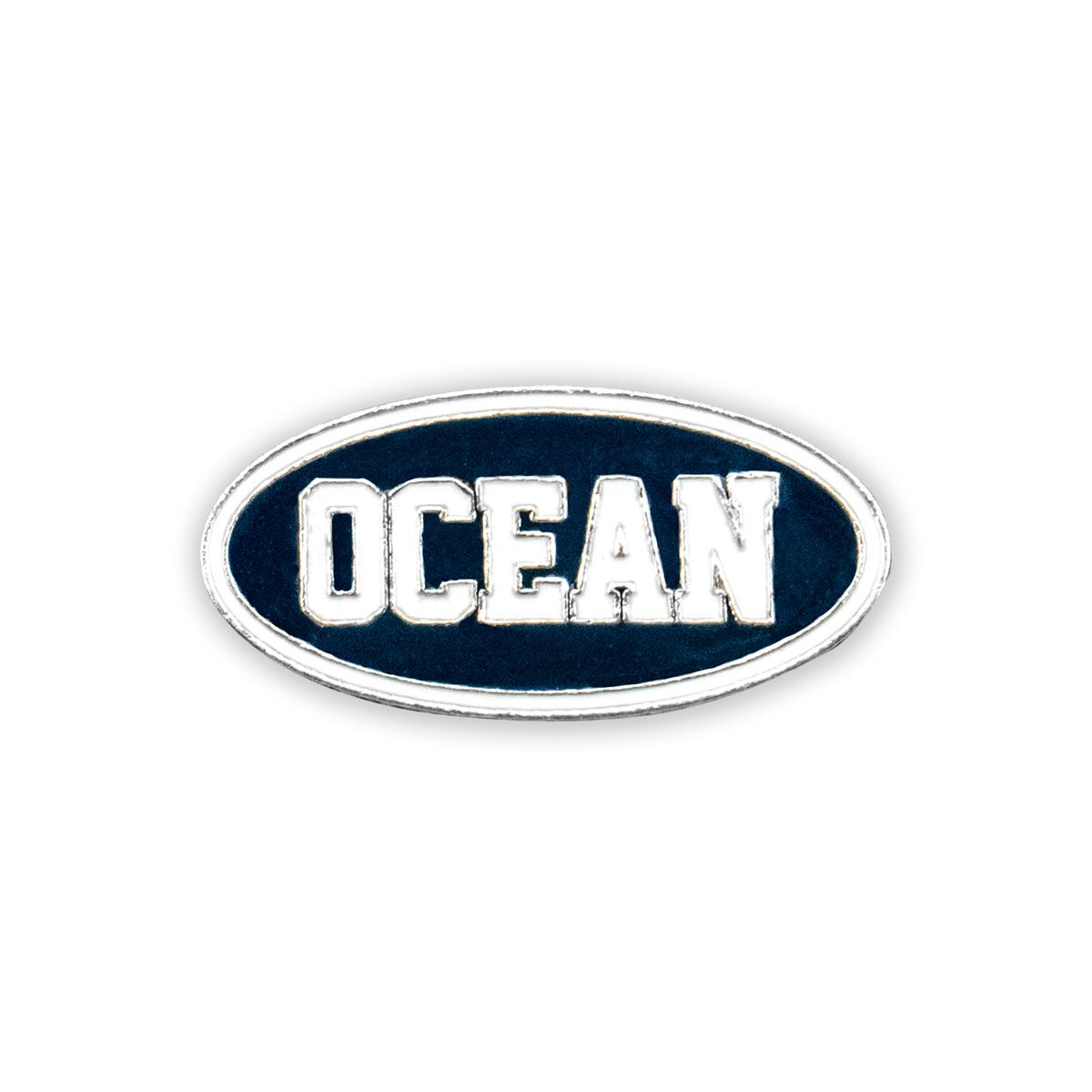 2019 Tour Metal Ocean Pin