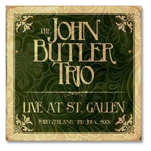 The John Butler Trio Live at St. Gallen CD