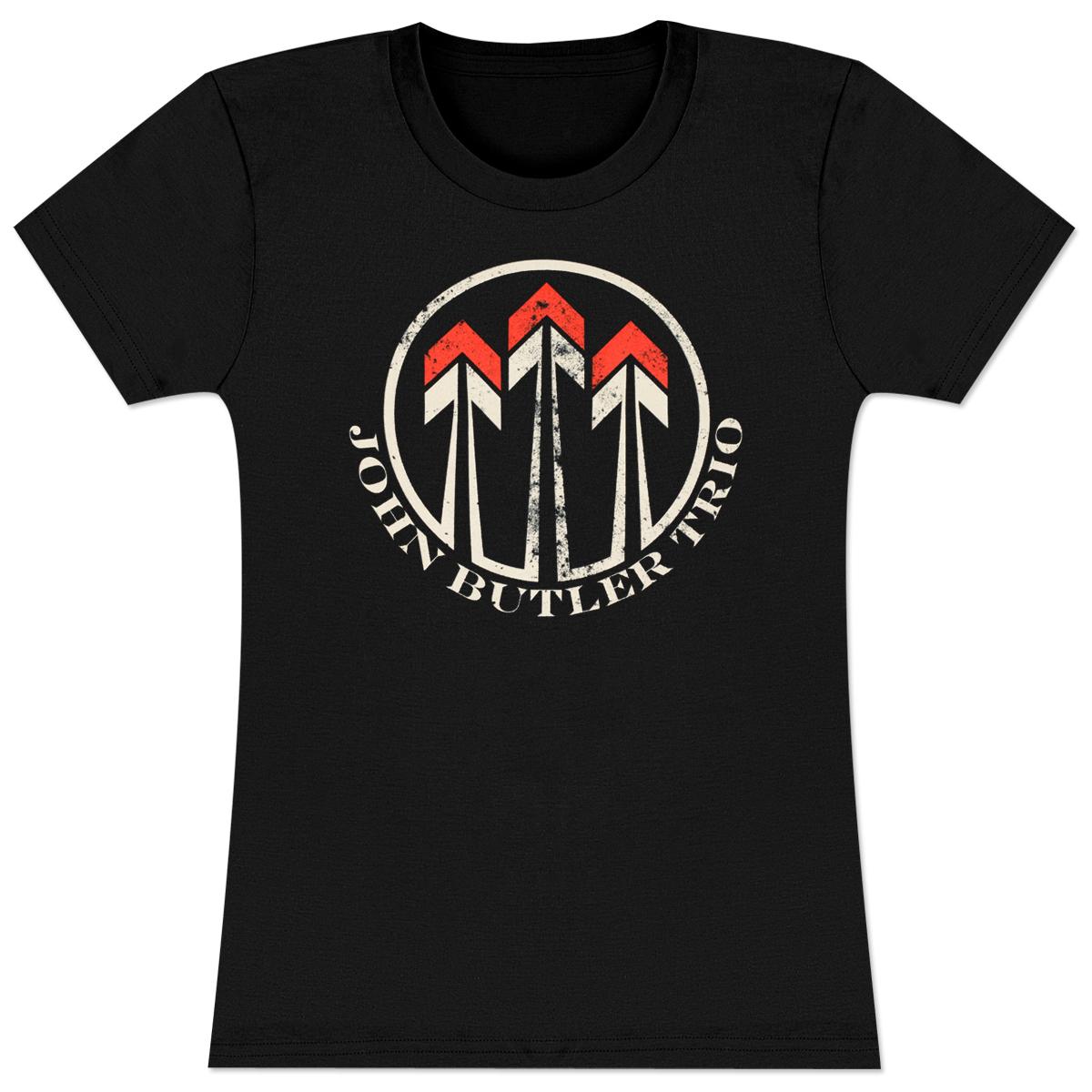 John Butler Trio Ladies Arrows T-Shirt