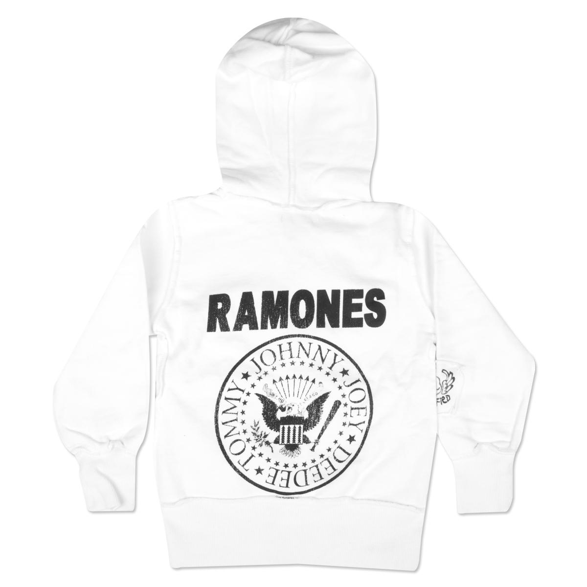 Ramones Kids Hoodie - White