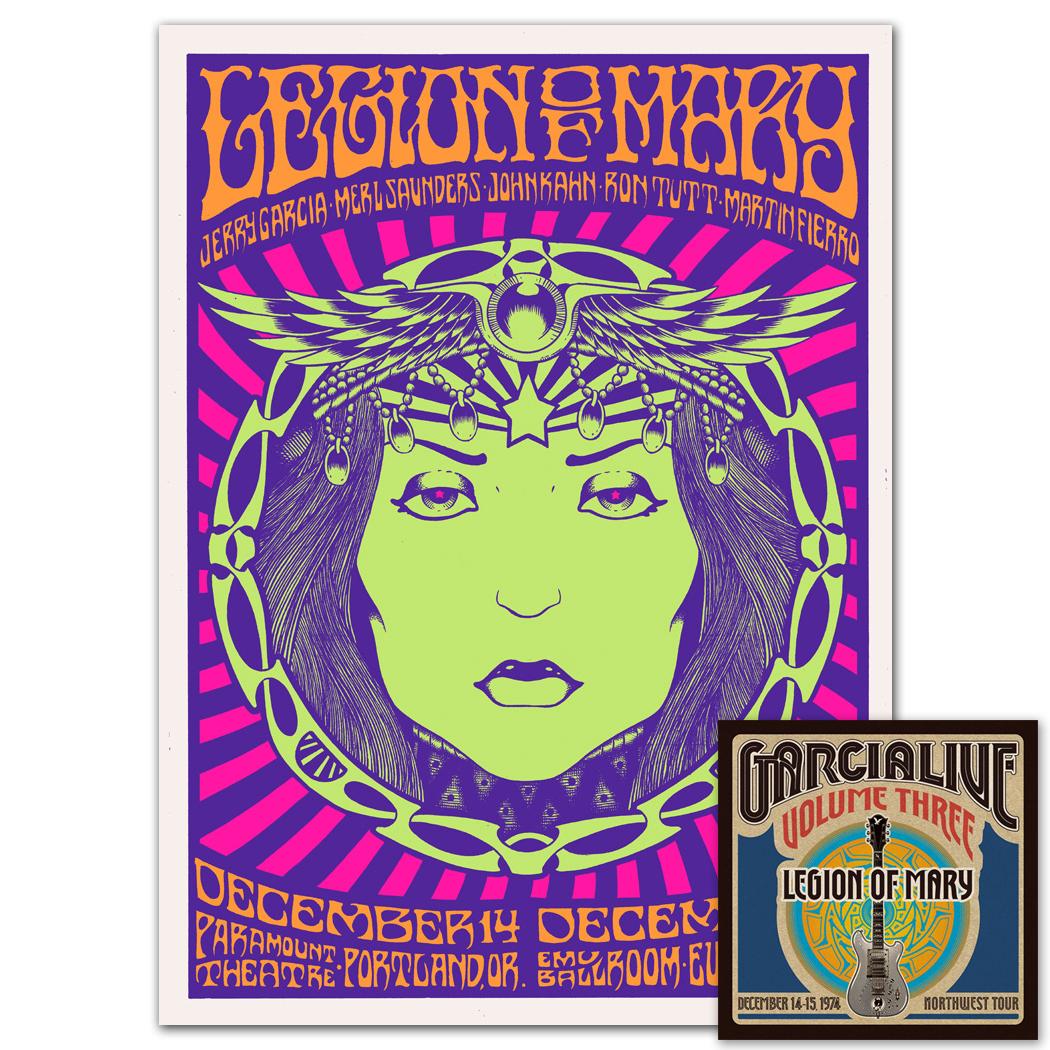 GarciaLive Vol 3: Dec 14-15, 1974 CD & Poster Bundle