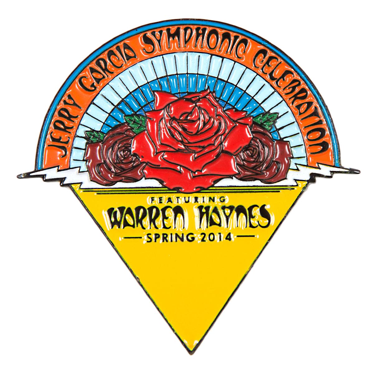 Jerry Garcia Symphonic Celebration Spring 2014 Tour Pin