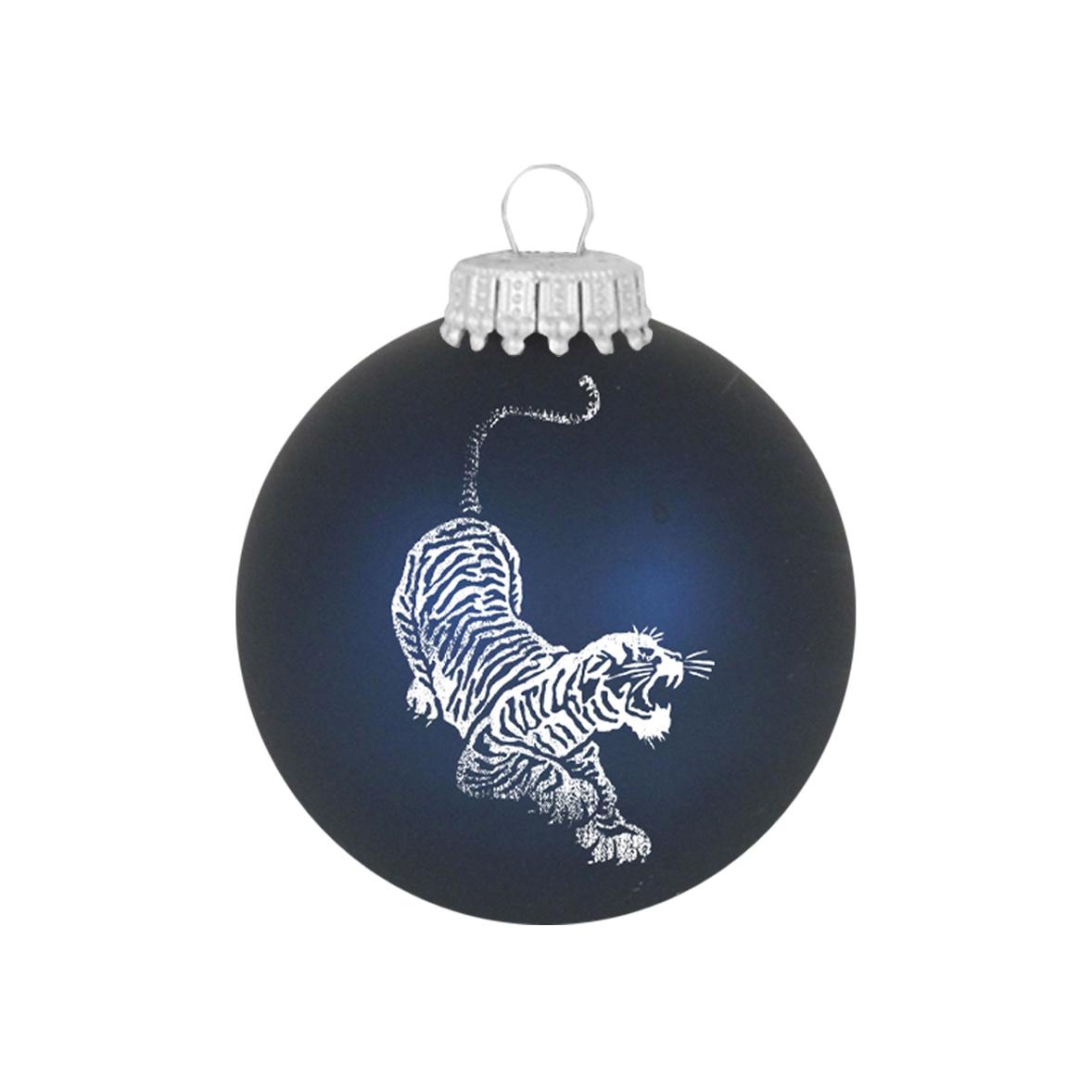 Jerry Garcia Tiger Glass Ornament