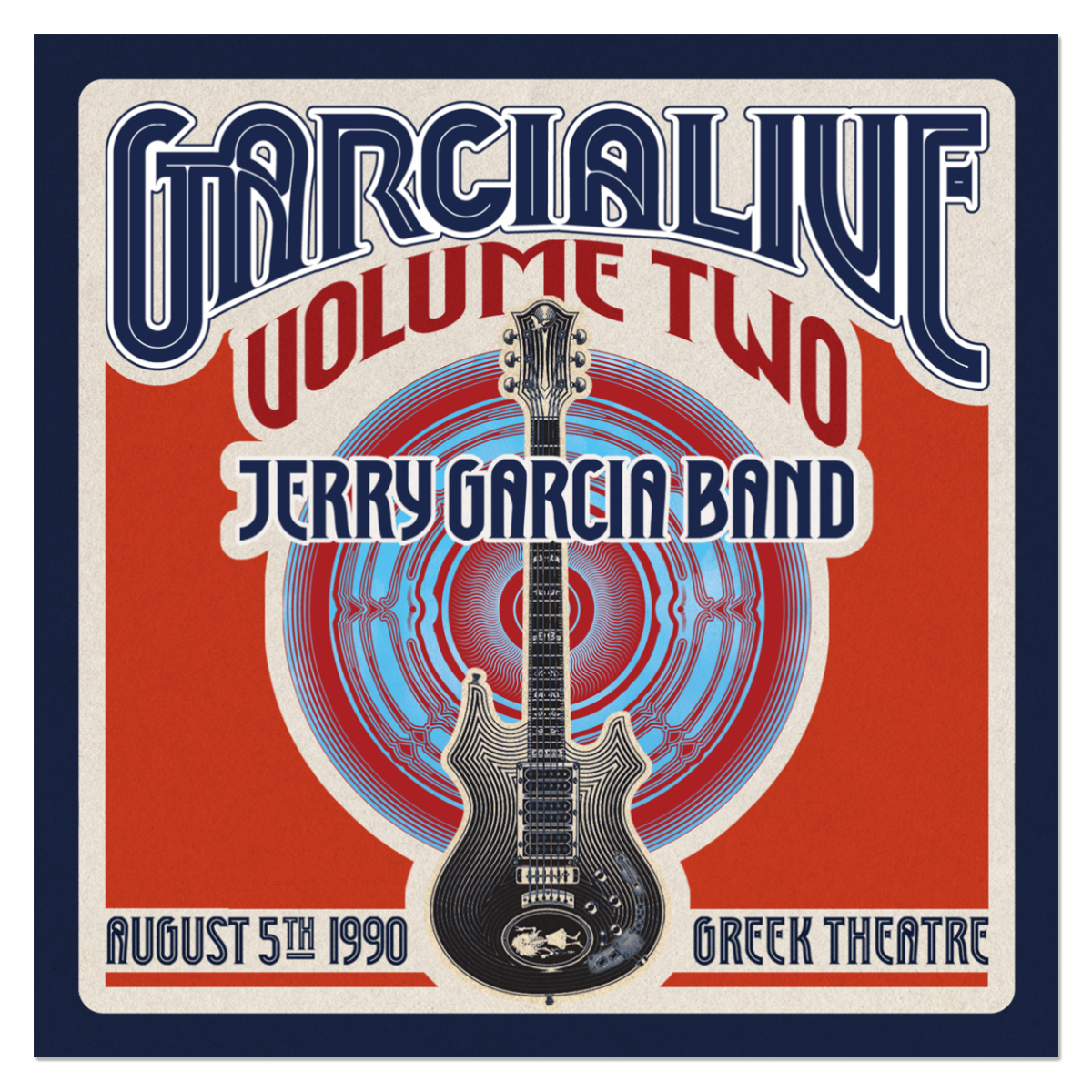 Jerry Garcia Band - GarciaLive Volume 2: 8/5/90 2-CD Set
