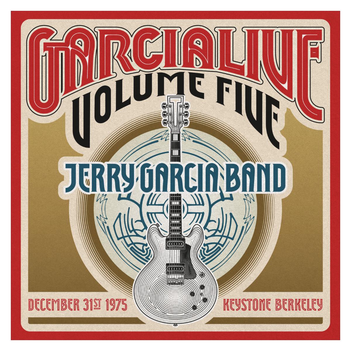 Jerry Garcia Band - GarciaLive Volume 5: 12/31/75 2-CD Set