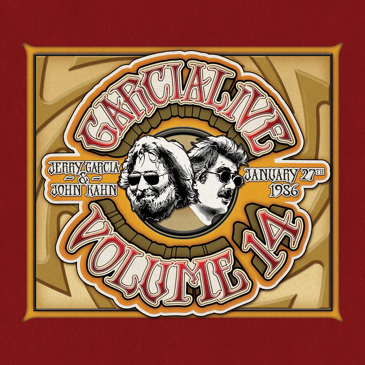 Jerry Garcia & John Kahn - GarciaLive Volume 14: 1/27/86 CD