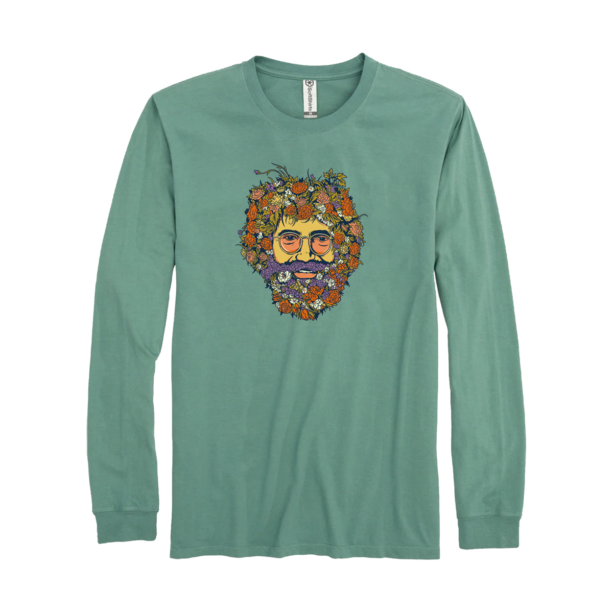 Jerry In Bloom Organic Cotton T-Shirt
