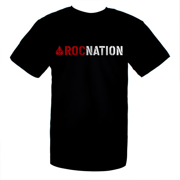 Jay-Z Black Rocnation T-Shirt
