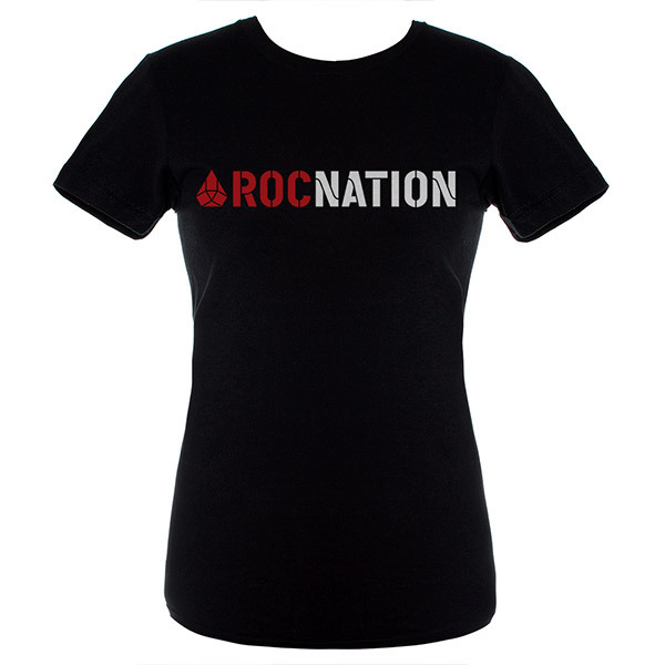 Jay-Z Black Juniors Rocnation T-Shirt