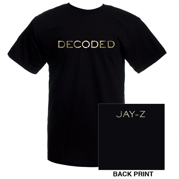 JayZ Official Decoded T-Shirt