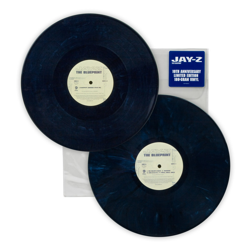 JayZ The Blueprint 10th Anniversary Vinyl
