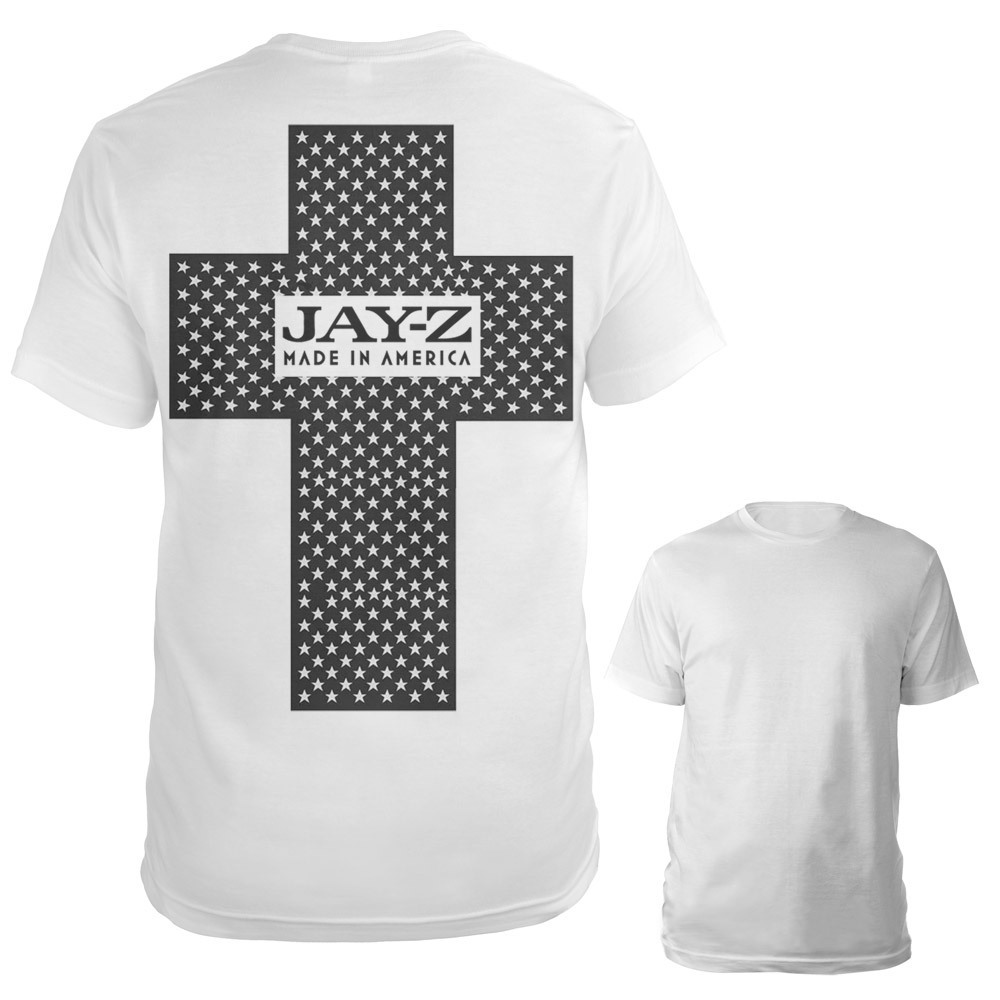 Jay-Z Made In America Cross Shirt