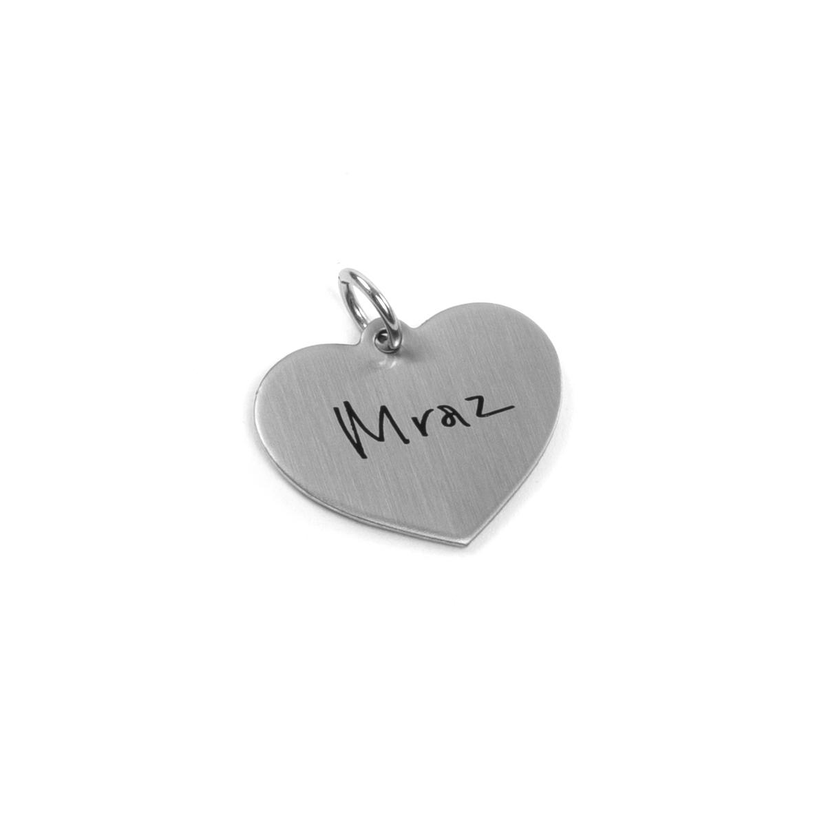 Jason Mraz Heart Charm