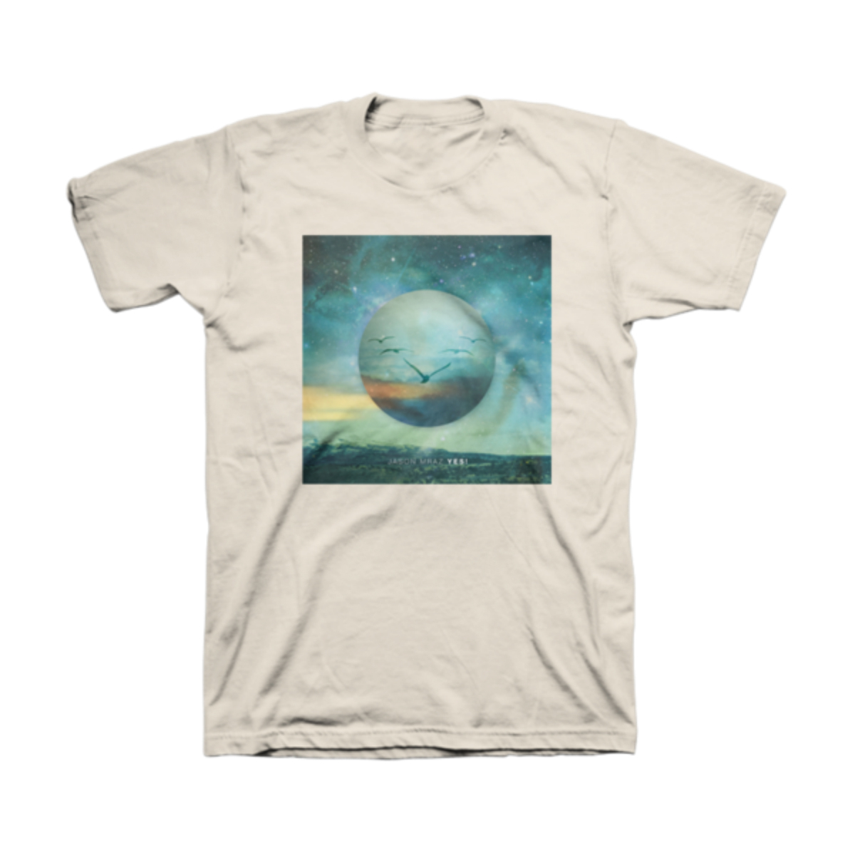 Jason Mraz Yes! Album Cover T-shirt