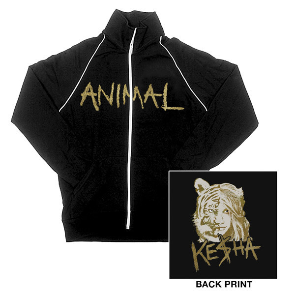Ke$ha Animal Track Jacket