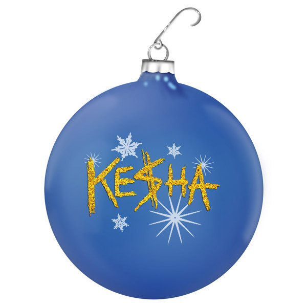 Ke$ha Holiday Ornament
