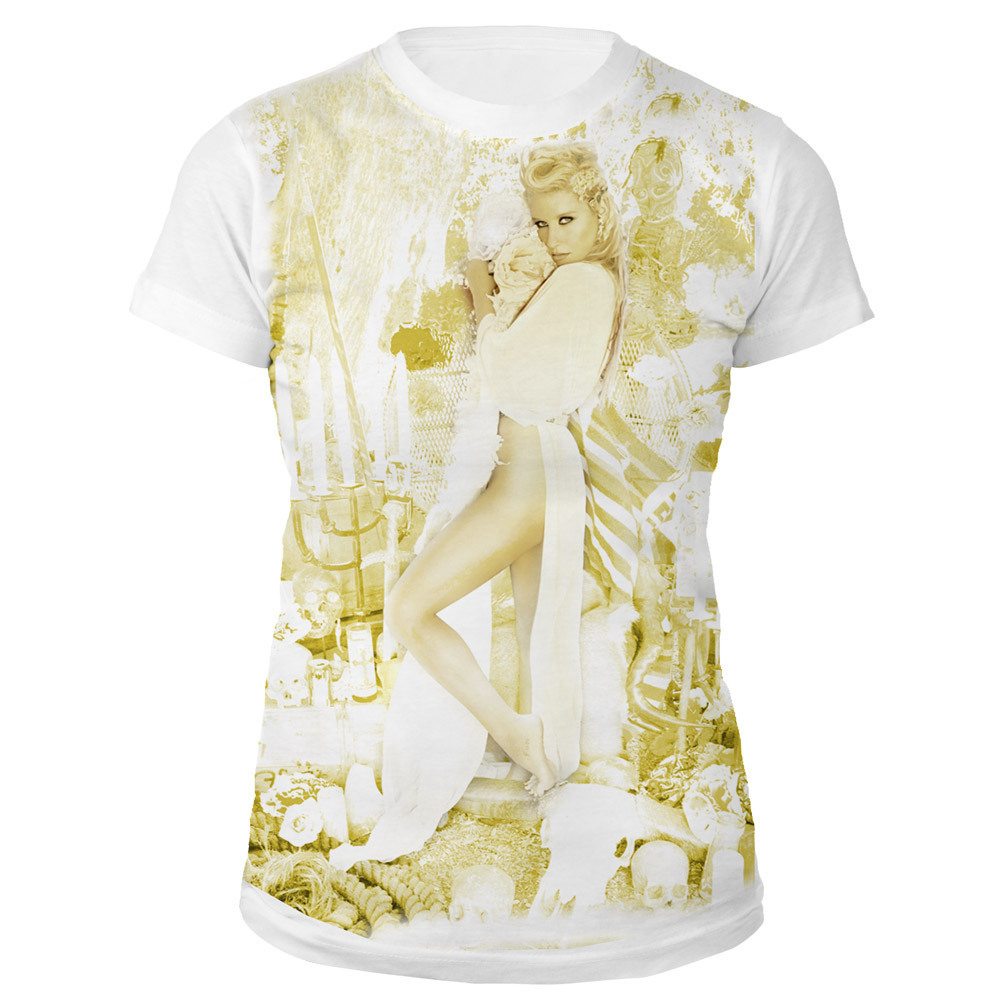 Ke$ha Dead Flower Jr. Tee