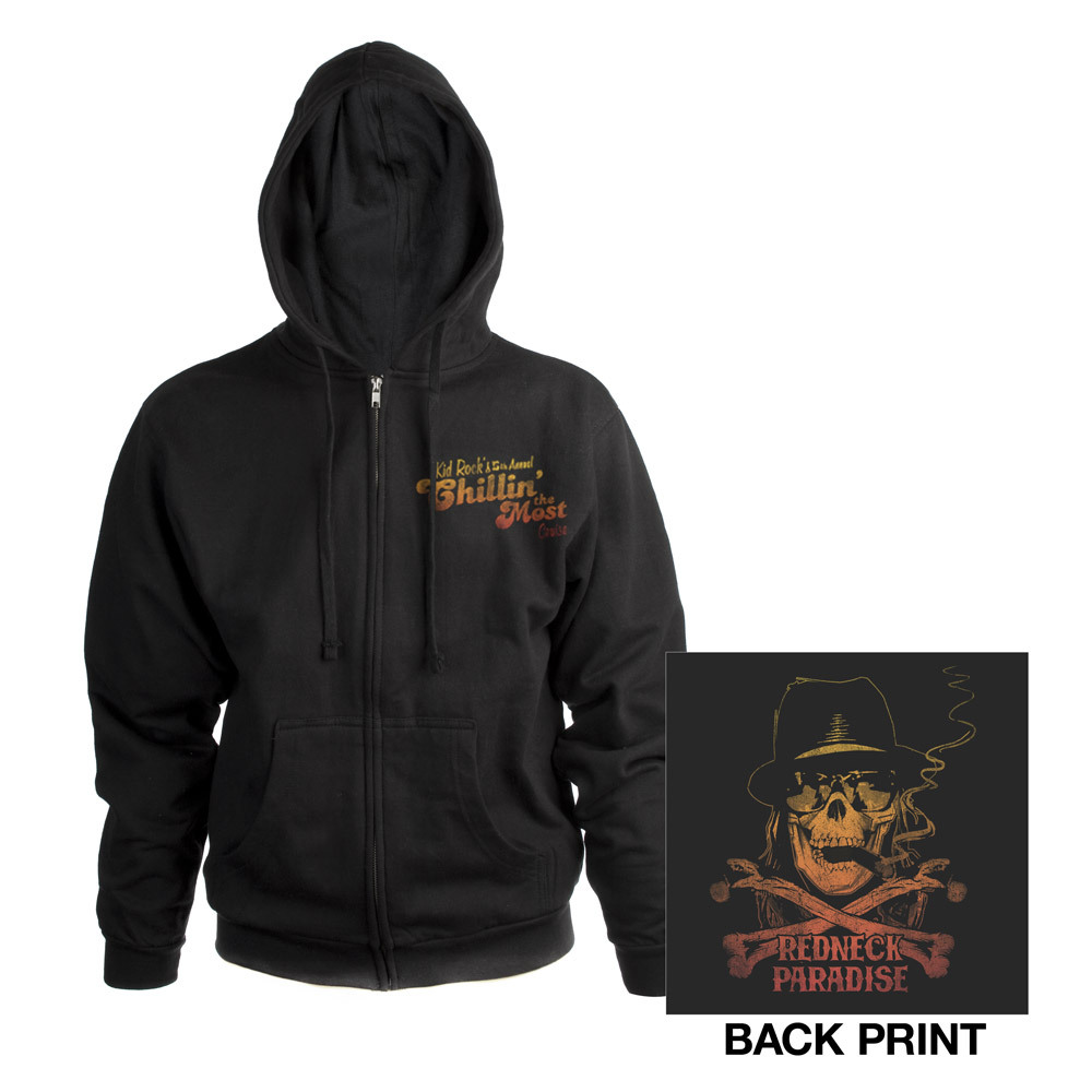 Kid Rock's 5th Annual Chillin' the Most Cruise Zip-Up Hoodie