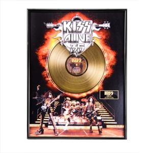 Collectors Edition KISS Alive 35 Gold LP