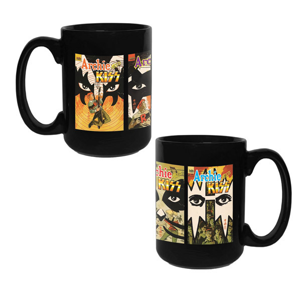 KISS Archie Meets KISS Coffee Mug