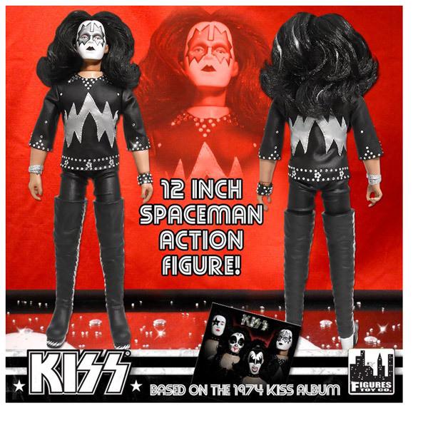 "KISS ""12 Spaceman Action Figure"