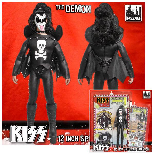 """KISS """"12 Demon Hotter Than Hell Figure"""