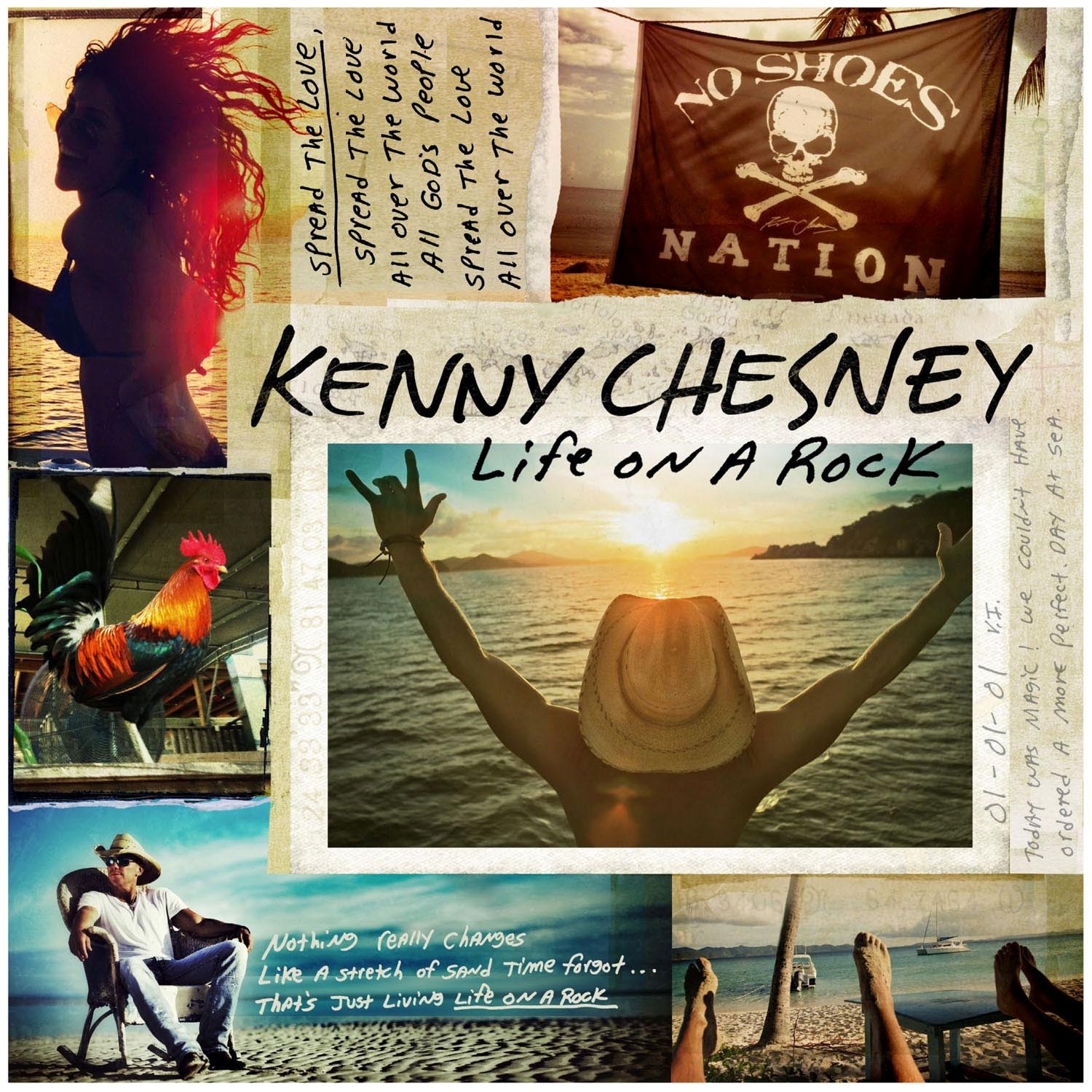 Kenny Chesney Life On A Rock Digital Download
