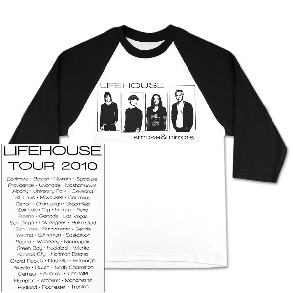 Lifehouse Boxed Photo Raglan