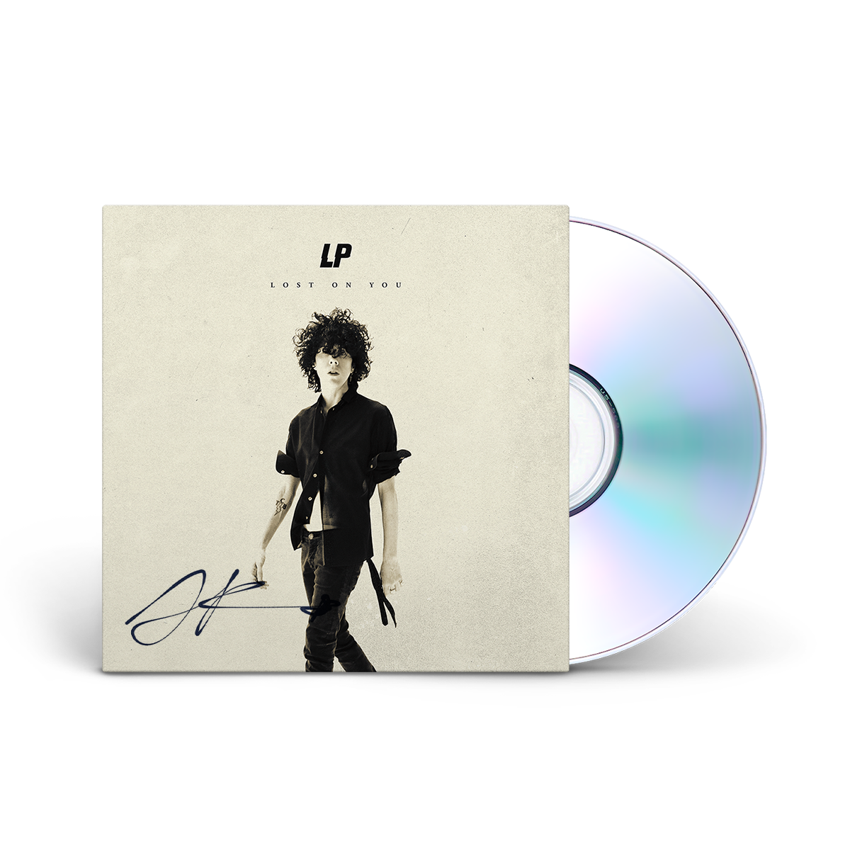 AUTOGRAPHED-Lost On You- CD