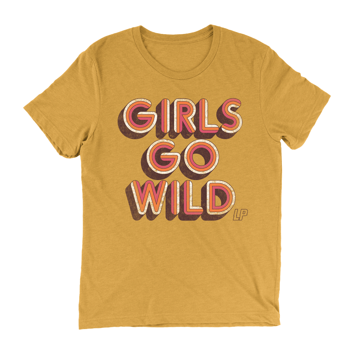 LP- Girls Go Wild Mustard Unisex T-Shirt