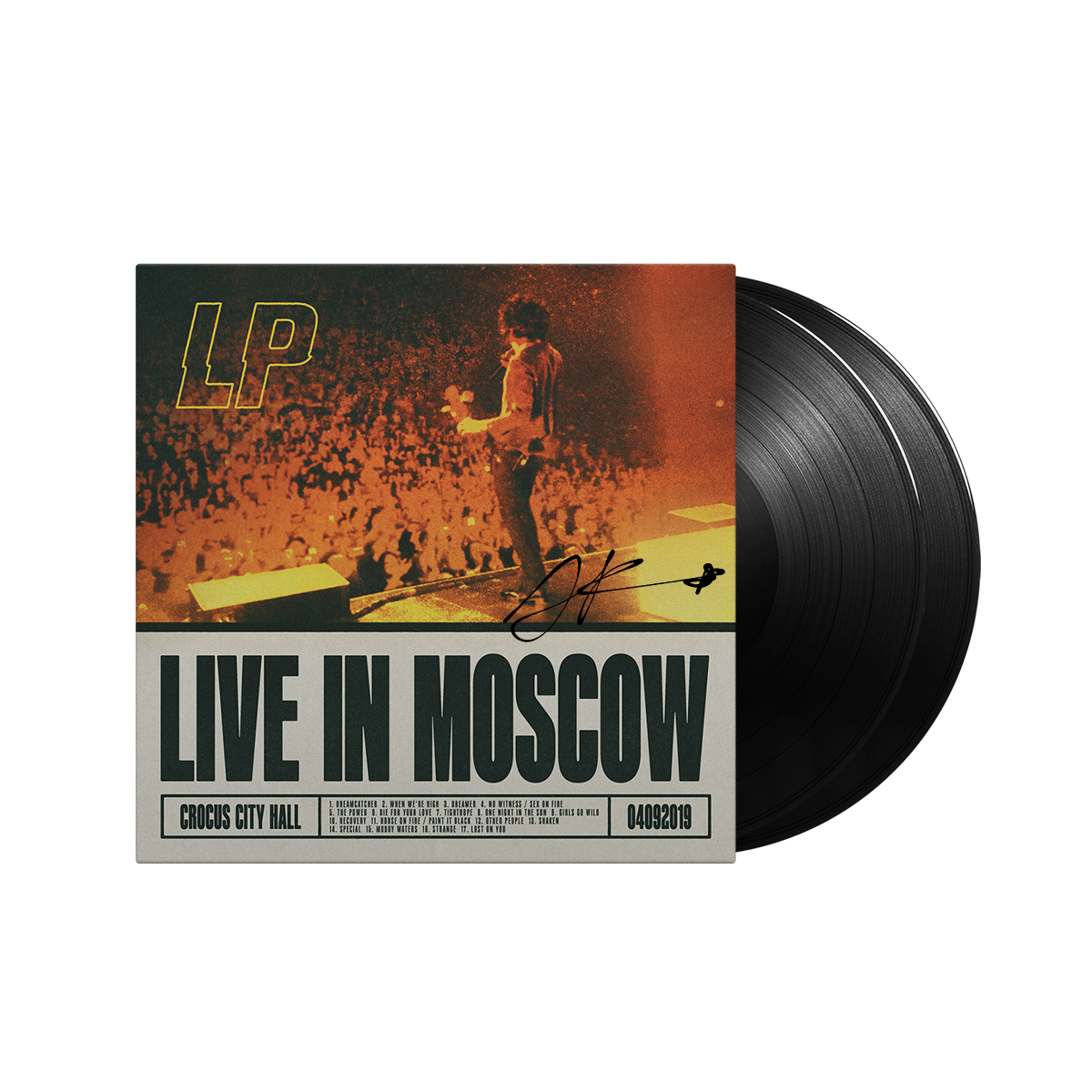 AUTOGRAPHED- Live in Moscow 2LP Record