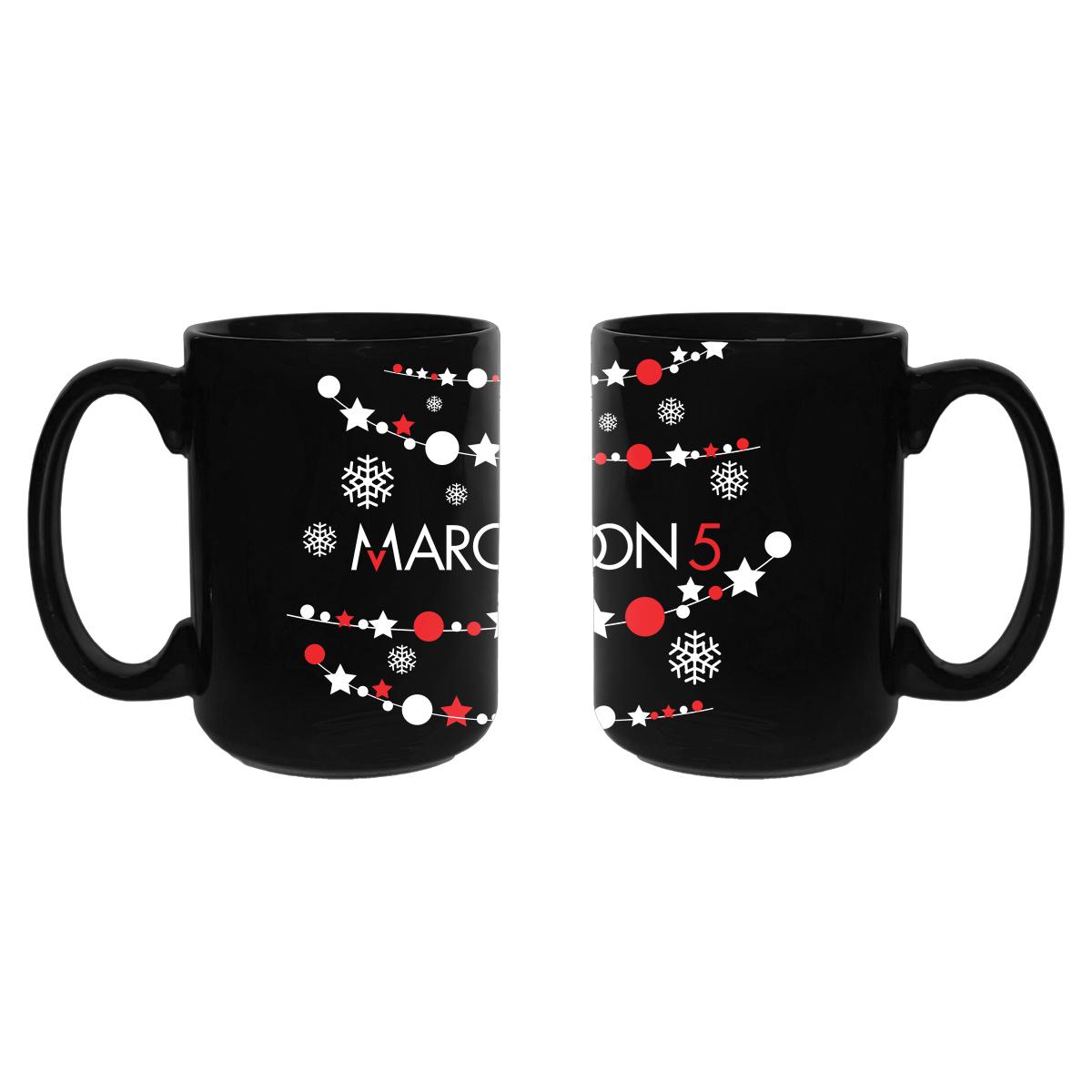 Pre-Order Maroon 5 Holiday Mug*