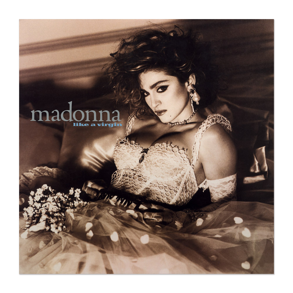 Madonna Official Like A Virgin Album Cover Litho