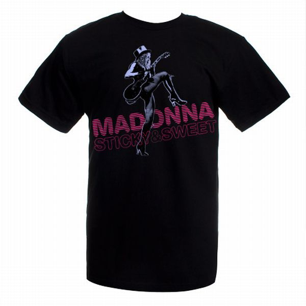 Madonna Sticky and Sweet Steppin T-Shirt