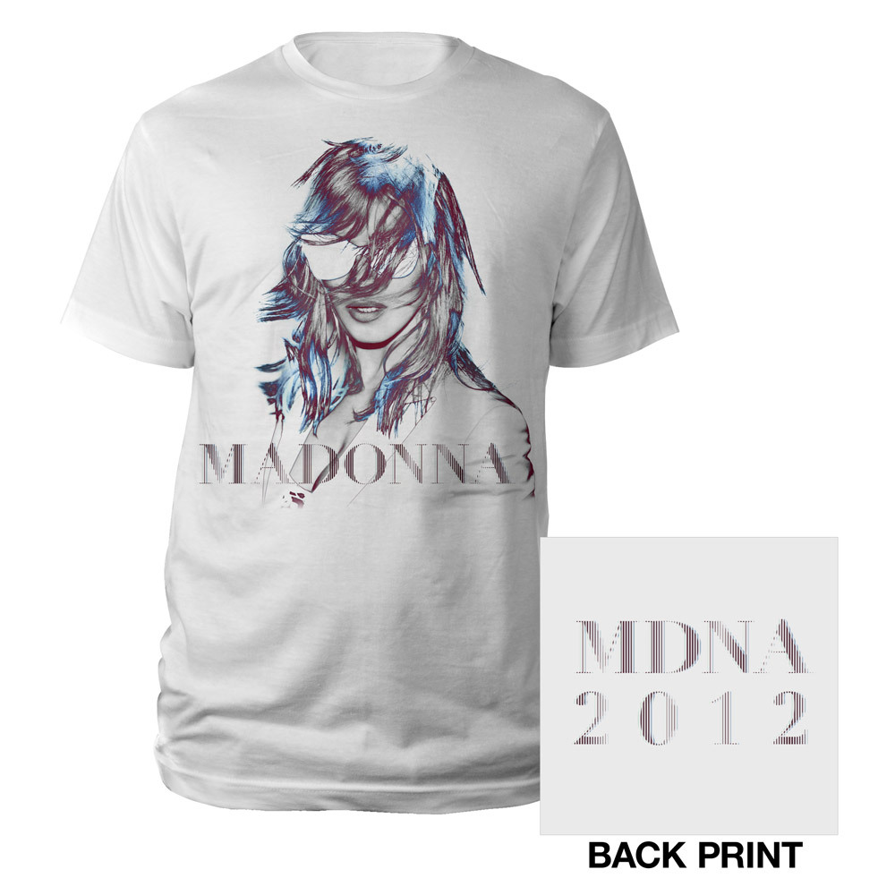 MDNA 2012 Tour Graphic Tee