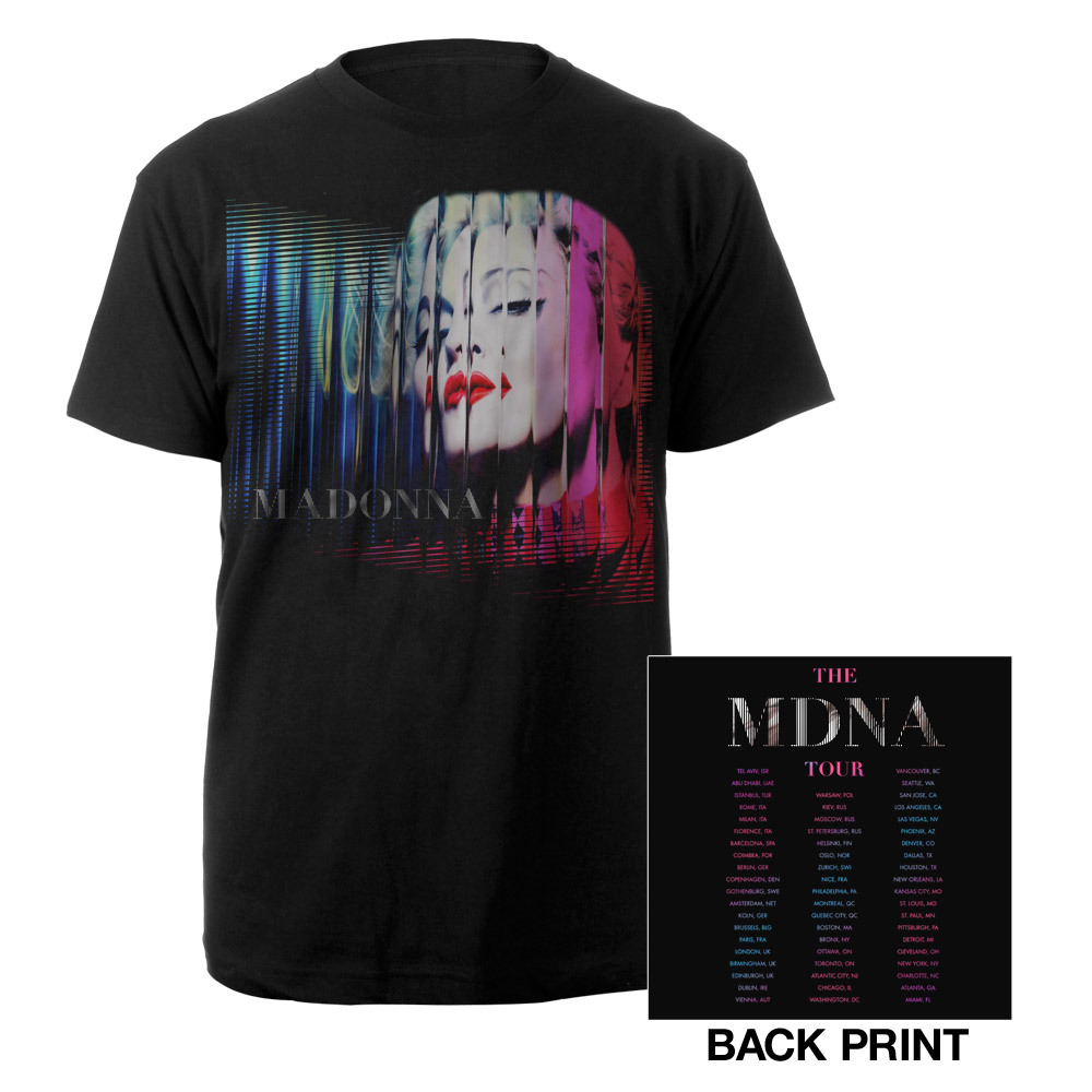 Madonna MDNA Album/Tour 2012 T-Shirt