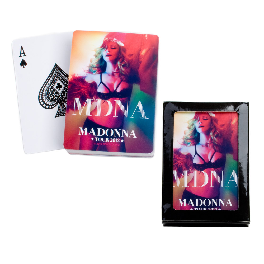 MDNA Playing Cards